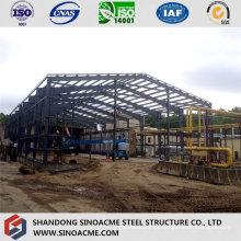 Construção de aço para armazém de estrutura moderna bem projetado