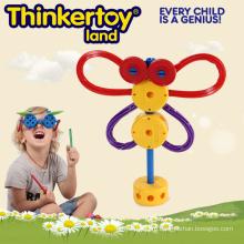 Горячая продавая пластмасса воспитательная игрушка здания для детского сада