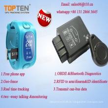 2016 OBD Do Carro 2 GPS Tracker com RFID Frota, Detectar Consumo de Combustível Tk228-Ez