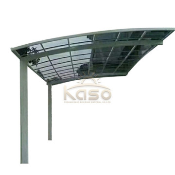 Car Wash Shelter Roof Polycarbonate Aluminium Carport Design