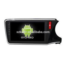 Vier Kern! Android 6.0 Auto-DVD für CITY RECHTS mit 10,1 Zoll Full Touch kapazitiven Bildschirm / GPS / Spiegel Link / DVR / TPMS / OBD2 / WIFI / 4G