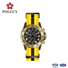 Multi-Function Watch with Nylon Strap Custom Watch