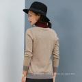 Новый стиль женщин 100% кашемир свитер одежда пуловер