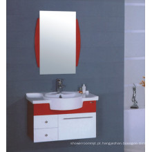 Vaidade do armário do banheiro do PVC de 80cm (B-511)