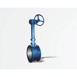 Soft seal lengthened butterfly valve