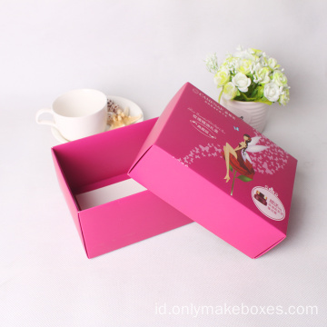 Grosir Disesuaikan Kraft Paper Cosmetic Packing Box