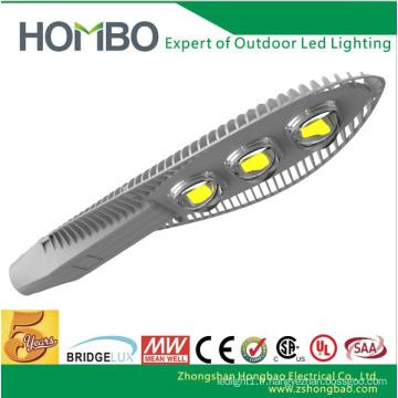 Haute qualité HOMBO led lumière super lumineuse haute puissance en aluminium conduit lampe de rue Bridgelux Chip intégration conduit l'éclairage extérieur