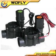 "3/4"" Plastic pvc water solenoid valve 24v"