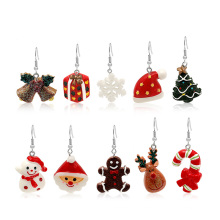 2021 christmas ornament Hot Sale High Quality Arts Crafts Christmas Decoration Ornaments earrings