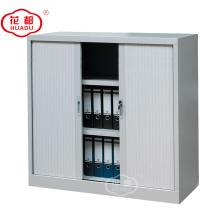 Modern KD half height file storage tambour door cupboard