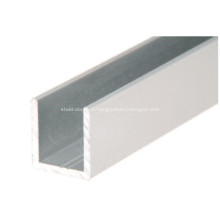 Porte de douche profilé en U en aluminium profond pour verre de 12 mm