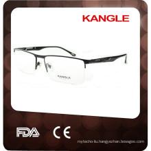 2015 Half-rim metal new model for men glasses frame