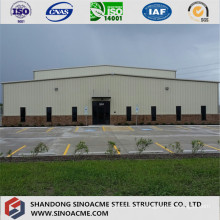 Steel Structure Building for Workshop with Warehouse
