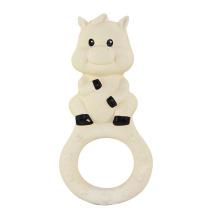 Brinquedos de plástico para animais, brinquedos de borracha anel de dentição para crianças