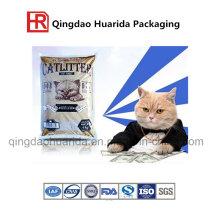 Fabricación Suministro Pastillas de gato baratos bolsa de plástico con buena calidad