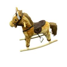 Деревянная лошадка-качалка на продажу