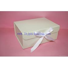 Caixa de embalagem dobrável em papel personalizado