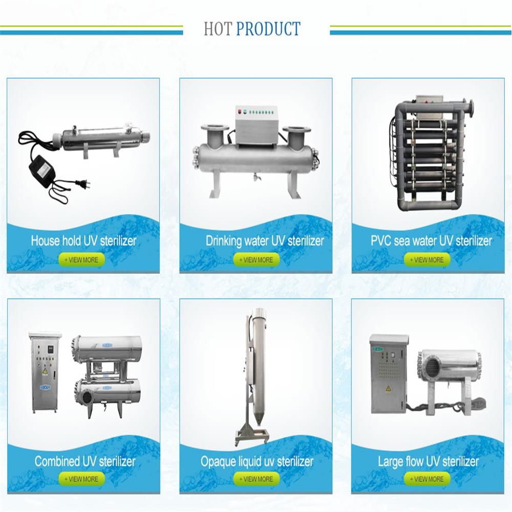 Water UV Purification Systems