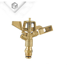 Brass rotating agriculture irrigation garden water sprinkler head