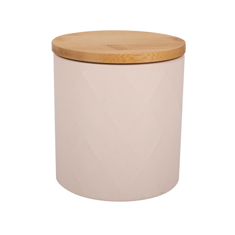 Bamboo Tea Canister Set