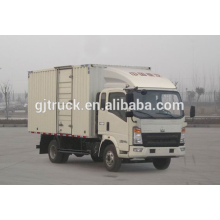 Sinotruk HOWO marca 4X2 drive camioneta para 3-18 metros cúbicos