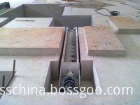 screw conveyor of cake