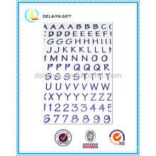 PVC/EVA foam alphabet letter sticker