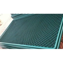 Used PVC Coating Sports Ground Chain Link Fence (YND-F-CLC)