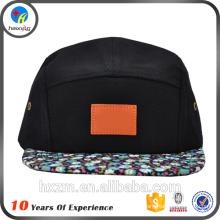 Alta qualidade preto Cap 5 painel com logotipo