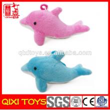 Al por menor peluche felpa juguete delfín felpa llavero
