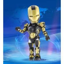 Personalizada 3D Movable Action Figure Boneca Crianças aprendendo brinquedos de plástico