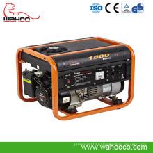 1kw1.5kw портативный генератор Газолина силой, бытовой генератор с CE (WK1500)