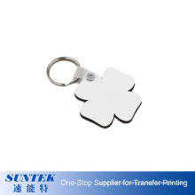 Factory Price High Quality Customized Blank Sublimation Wood MDF Keychain