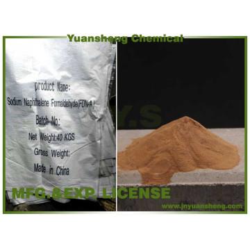 Sulfonato de Naftaleno Sulfonato de Sodio Sulfato de Sodio y Sodio Menos del 5%