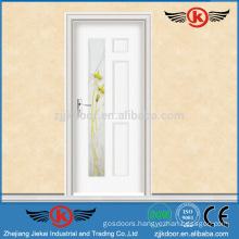 JK-SW9011 luxury turkey steel wooden door factory