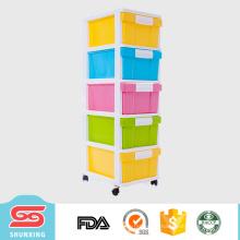 5 Schichten Speicherschublade Kunststoffteiler Möbel zum Verkauf