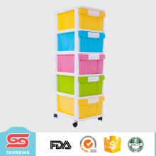 5 слоев для хранения ящик пластиковый разделитель корпусная мебель для продажи