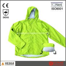 Супер свет нейлон складной Ветровка полиэстер дождя куртку
