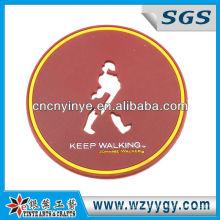 company trademark promotion soft pvc table mat