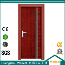 Red Oak Wood/Pine Veneer MDF Prefinished/Laminated Room Flush Door