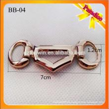 BB04 Hebilla de la cadena del oro de la decoración del zapato de la manera para la correa del zapato