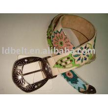 Genuine leather Belt fashion big ladies belts