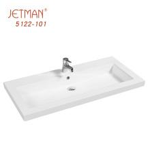lavabo de dessus de vanité de meuble de salle de bains de luxe occidental