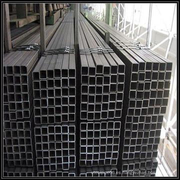 Tubo de sección hueca cuadrada recocido negro