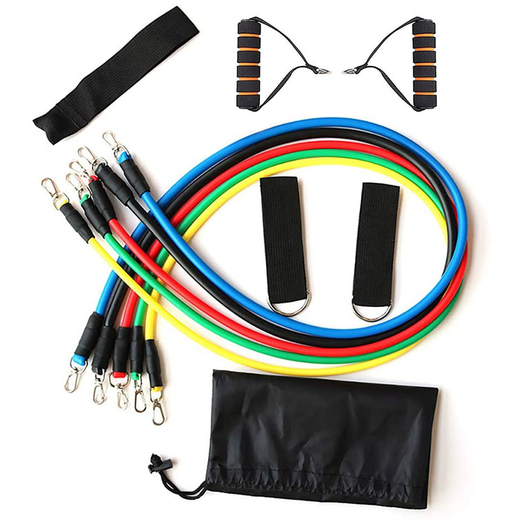 11 Piece Resistance Band