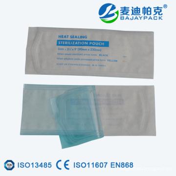 Poche plate de stérilisation médicale de cachetage de la chaleur pour l'équipement médical d'EO / vapeur
