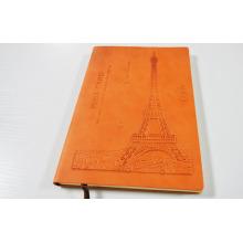 personalisiertes Notizbuch des ledernen kundenspezifischen Notizbuches drucken