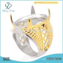 2015 fashion beautiful custom Indonesia cincin stainless steel models rings for men