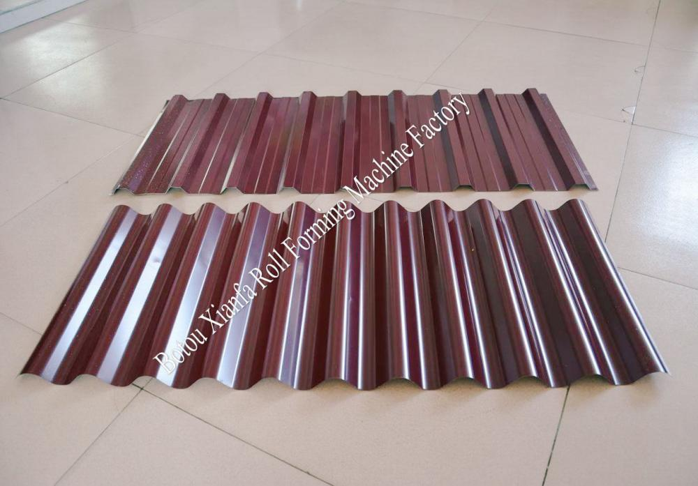 Roof Tile Corrugated And Trapezoidal Machine