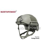 Trilho lateral do capacete rápido